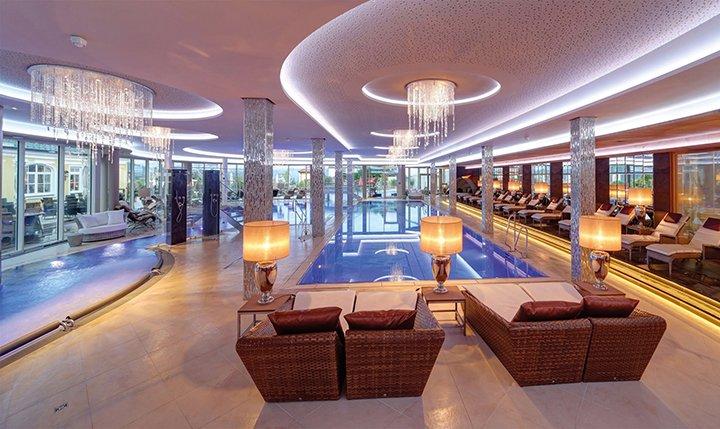 6.500 m² Wellnesslandschaft im Hotel Jagdhof